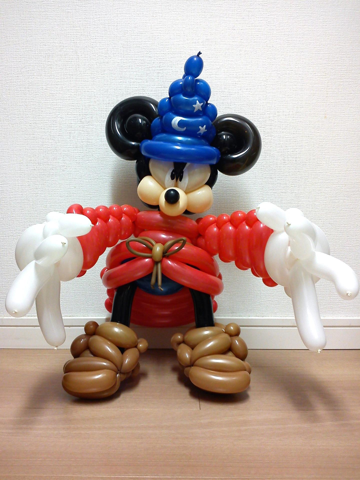 ソーサラーミッキー<ファンタジア/ディズニー> - バルーンアート